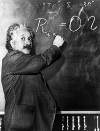 Was Albert einstein a right brain dominant? if yes, howcome he was so good at math???